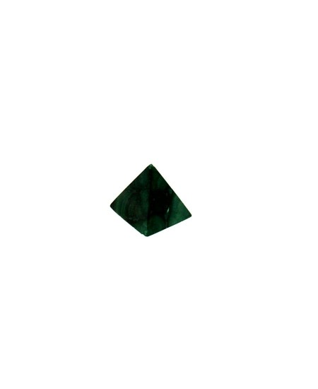 Piramide piccola in malachite